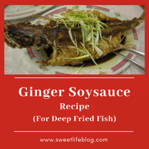 Ginger Soy Sauce Recipe